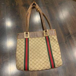 Rare Vintage Gucci Tote